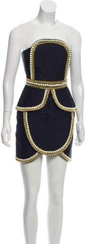 The Cold Snap Beaded Dress w- Tags