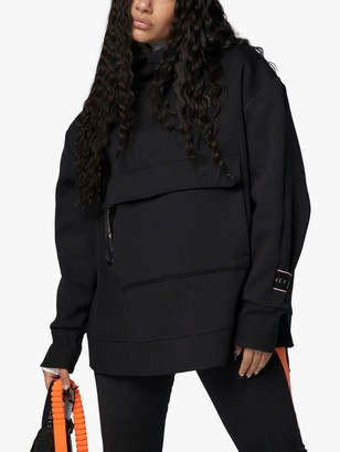adidas by Stella McCartney Pull On Hooded Sweatshirt, Black