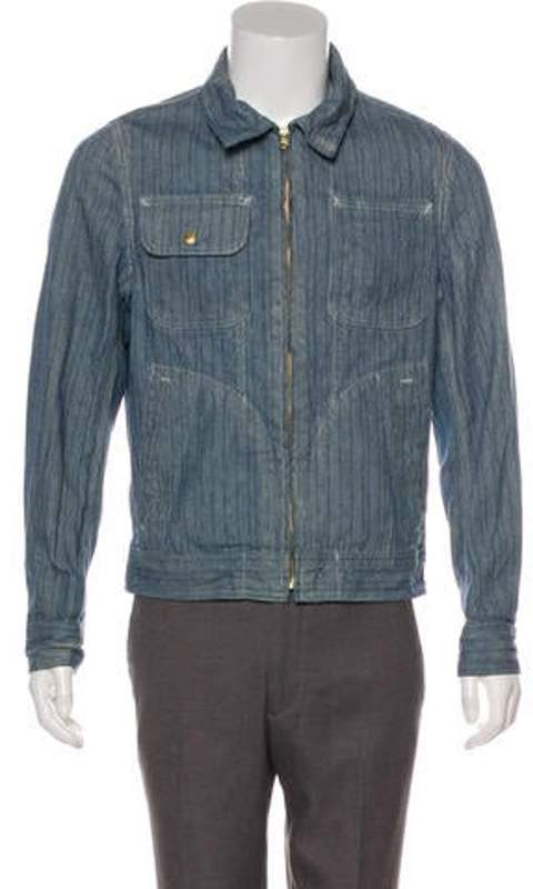 b2940abc0 Perfecto Brand by Striped Zip-Up Jacket blue Perfecto Brand by Striped  Zip-Up Jacket
