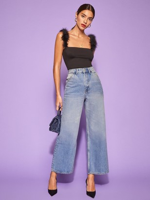 Reformation Jackie Ultra High Rise Crop Jean