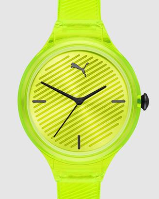 Puma Contour Yellow Analogue Watch