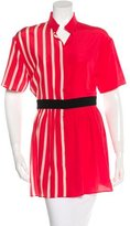 Ungaro Silk Striped Tunic
