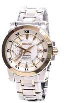 Seiko Men's Premier SRG010 Stainless-Steel Quartz Watch