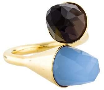 Kara Ross 18K Medium Clasp Ring
