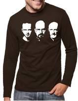 Walter Touchlines Men's Long Sleeve T-Shirt Jesse Mike Faces Size:L