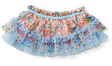 Baby Starters Baby Girls 3-12 Months Floral-Printed Tiered Ruffled Tutu Skirt