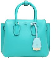 MCM Mini Milla Leather Tote Bag