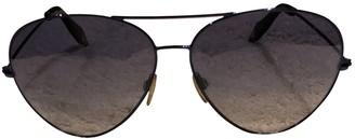 Victoria Beckham Blue Metal Sunglasses