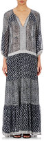 Ulla Johnson Women's Georgette Thalassa Maxi Dress-BLUE