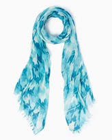 Charming charlie Houndstooth Sequin Scarf