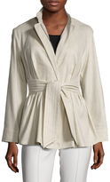 Josie Natori Women's Stretch Midi Jacket