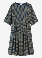 Toast Chequerboard Ikat Dress