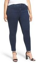 Melissa McCarthy Plus Size Women's No Topstitch Pencil Jeans