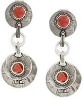 Saint Laurent Marrakech disc earrings