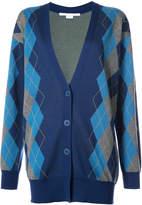 Stella McCartney Argyle long cardigan