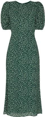 Reformation Palmer floral print midi dress