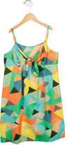 Milly Minis Girls' Sleeveless Printed Dress