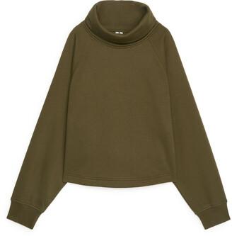 Arket Roll-Neck Sweatshirt