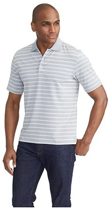 UNTUCKit The Luxe Performance Polo (Mid Grey) Men's Clothing