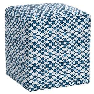 Imagine Home Cote D'azur Bohemian Cube Ottoman