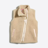 J.Crew Factory Girls' sherpa vest
