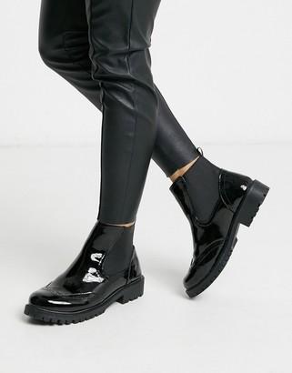 Vero Moda patent boots