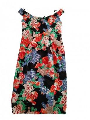 Mangano Multicolour Cotton Dress for Women