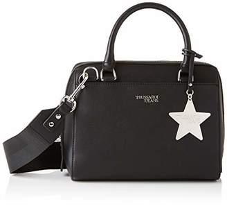Trussardi Jeans Women's 75B00667-9Y099999 Top-Handle Bag Black