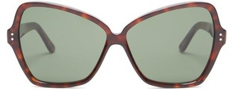 Celine Butterfly Cat-eye Acetate Sunglasses - Red Multi