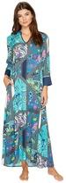 N by Natori - Bandana Rose Caftan Women's Pajama