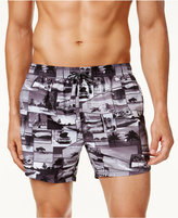 HUGO BOSS HUGO Men's Springfish Printed Swim Trunks