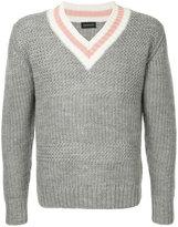 Undercover knitted v-neck jumper
