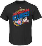 Majestic Men's Chicago Cubs MLB World Series Parade T-Shirt