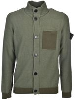 Stone Island Buttoned Cardigan