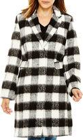 Liz Claiborne Wool-Blend Walking Coat - Tall