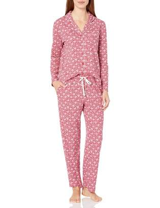 Karen Neuburger Women's Long-Sleeve Floral Girlfriend Pajama Set Pj
