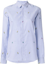 Kenzo stripe print shirt - women - Cotton - 34
