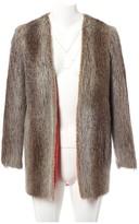 Missoni Beige Beaver Coat for Women