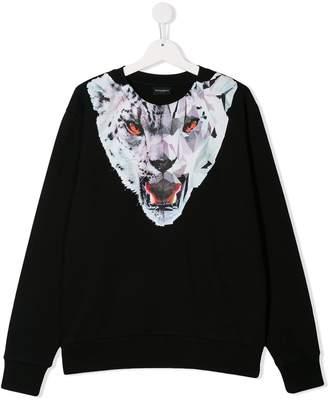 Marcelo Burlon County of Milan Kids lion print sweatshirt