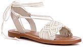 GB Quick-Wit Macrame Flat Sandal