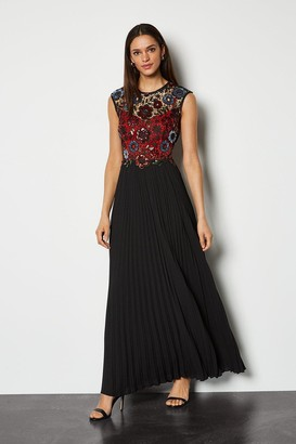 Karen Millen Sequin Lace Maxi Dress