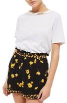 Topshop Women's Floral Shorts