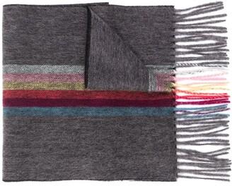 Paul Smith Stripe Print Scarf
