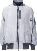 Sacai pinstriped bomber jacket