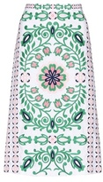 Tory Burch Greenfield cotton skirt