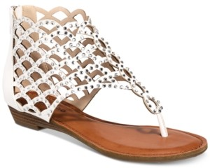 Zigi Melaa Caged Flat Thong Sandals Women's Shoes