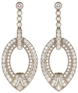 Kwiat Diamond Drop Earrings