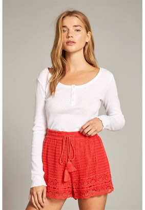 Jack Wills Henriette Crochet Shorts
