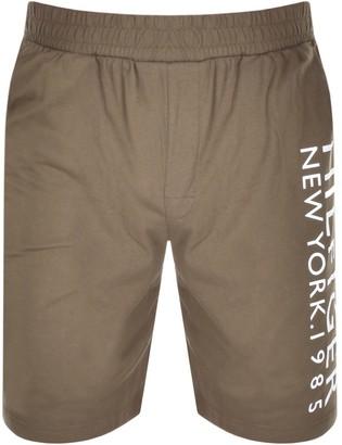 Tommy Hilfiger Loungewear Logo Shorts Green