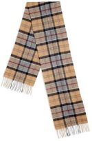 Barbour Tartan Wool & Cashmere Scarf